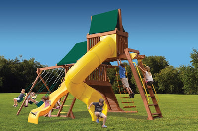 Playground-One-Original-Playcenter-with-Monkey-Bars-Sky-Loft-and-Tube-Slide