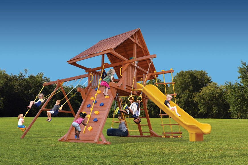 Playground-One-Turbo-Deluxe-Playcenter-with-Wood-Roof