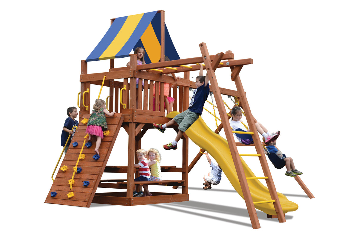 Playground-One-Turbo-Original-Fort-with-Monkey-Bars-Studio