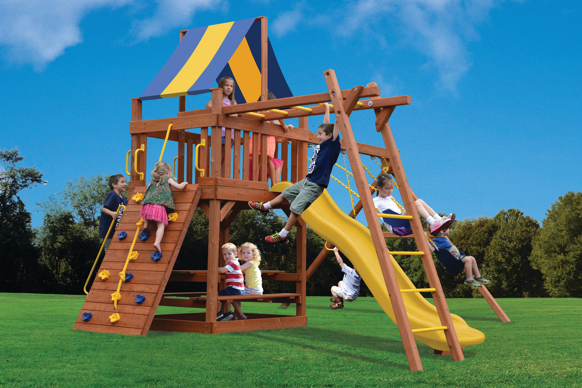 Playground-One-Turbo-Original-Fort-with-Monkey-Bars