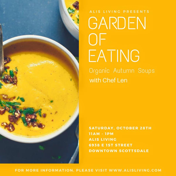 Garden of Eating Series - Autumn Soups