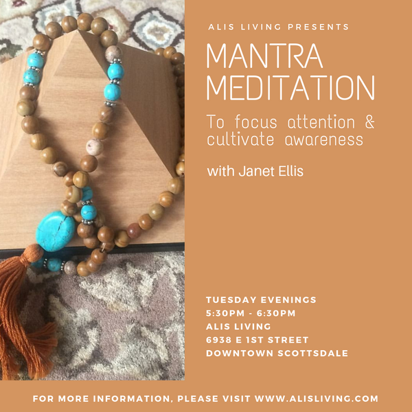 Mantra Meditation to focus attention and cultivate awareness