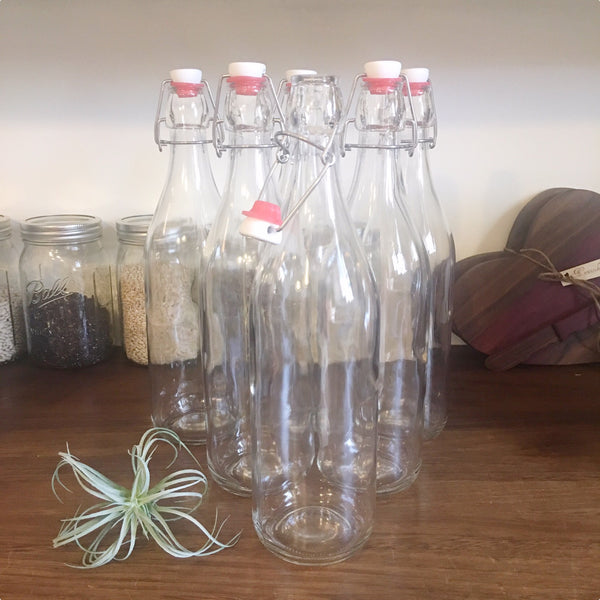 Giara Swing Top Glass Bottle