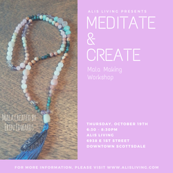 Meditate & Create Meditation and Mala Making Workshop