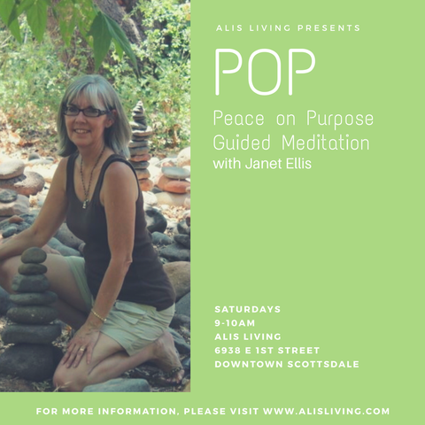 POP ~ Peace on Purpose Guided Meditation Class with Janet Ellis