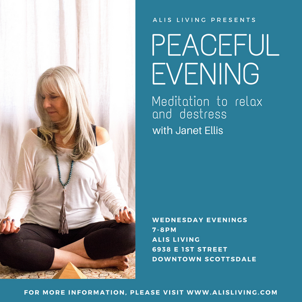 Peaceful Evening Meditation to Relax & DeStress