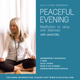 Peaceful Evening Meditation to Relax & DeStress Wednesday Evenings