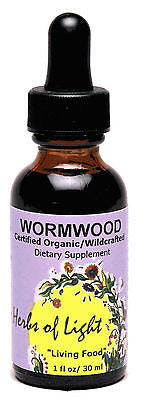 Wormwood 1 oz Liquid Assists Digestion and Women's Health