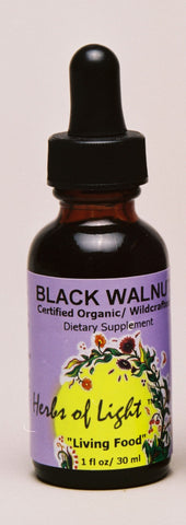 Black Walnut Hulls 1 oz Liquid Supports Blood and Skin