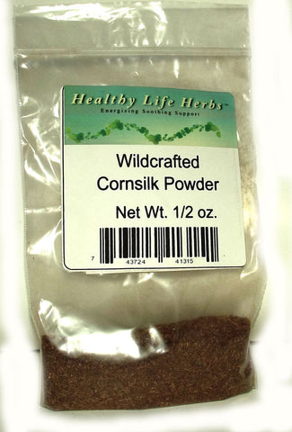 Cornsilk Powder 1/2 oz > 11 lb - Wildcrafted - Urinary Tract and Skin Health Support