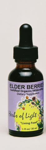 Elderberry 1 oz Liquid Assists with Colds and Flu