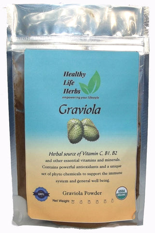 Graviola Leaf Powder (Soursop) Annona muricata 1/2 oz > 11 lb