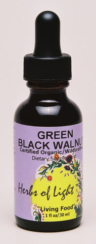 Green Black Walnut 1 oz Liquid Assists with Parasites