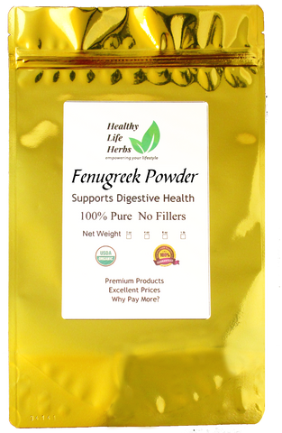 Fenugreek Powder 1 oz > 2 lb - Certified USDA Organic