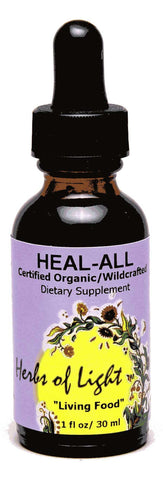 Heal All 1 oz Liquid Assists with Sores and Wounds