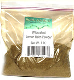 Lemon Balm 1/2 oz > 11 lb - Wildcrafted - Nerve Sleep and Immune Support