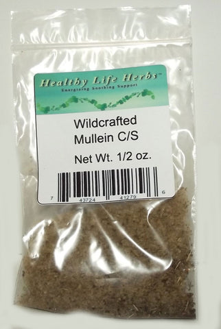 Mullein 1/2 oz > 11 lb - Wildcrafted - Throat and Respiratory Health Support - Smoking Issues