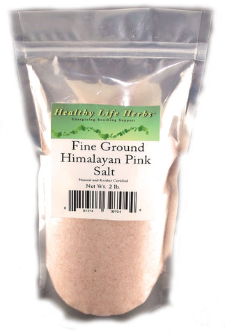 Pure Himalayan Pink Salt 1 oz - 5 lb - No Dynamite Dust