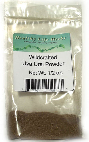 Uva Ursi 1/2 oz > 11 lb - Wildcrafted - Kidney, Urinary, Bladder Health Support