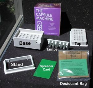 "The Capsule Machine ""0"" Capsule Machine 1 Kit - Fills 24 Capsules in Minutes"