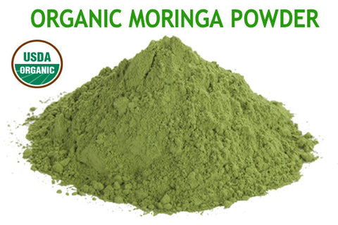 Moringa Powder 2 oz > 5 lb - Certified USDA Organic