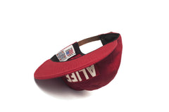ALIFE® EBBETS FIELD BALL CAP - RED