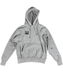 A.R.C. CHAMPION REVERSE WEAVE PULLOVER HOODIE [GREY]