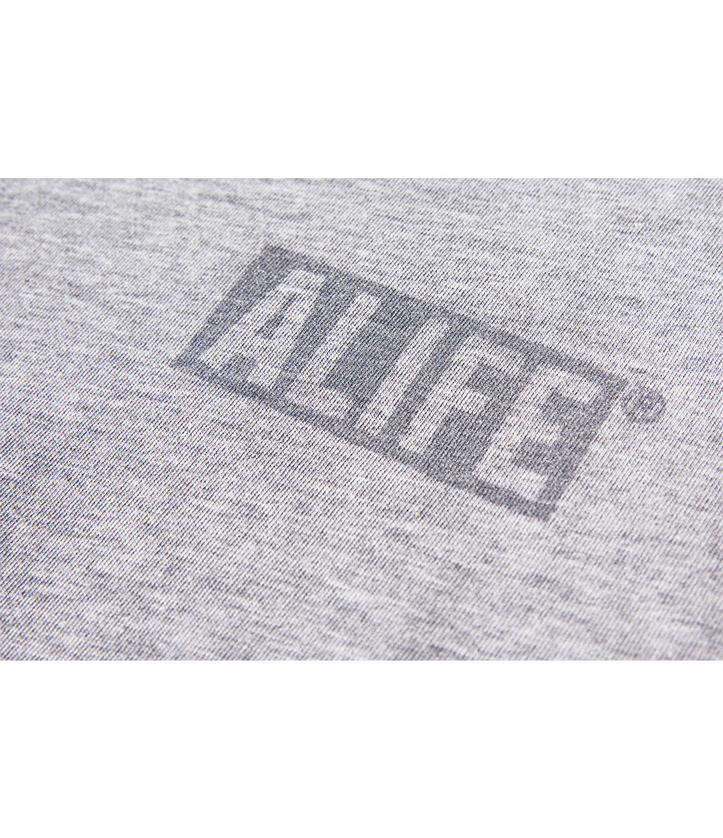 ALIFE® 3M BOX LOGO T-SHIRT [HEATHER GREY]