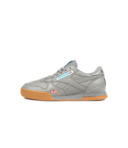 "ALIFE® x REEBOK PHASE 1 PRO ""NY, NY"" [FLAT GREY/WHITE/CALIFORNIA BLUE]"