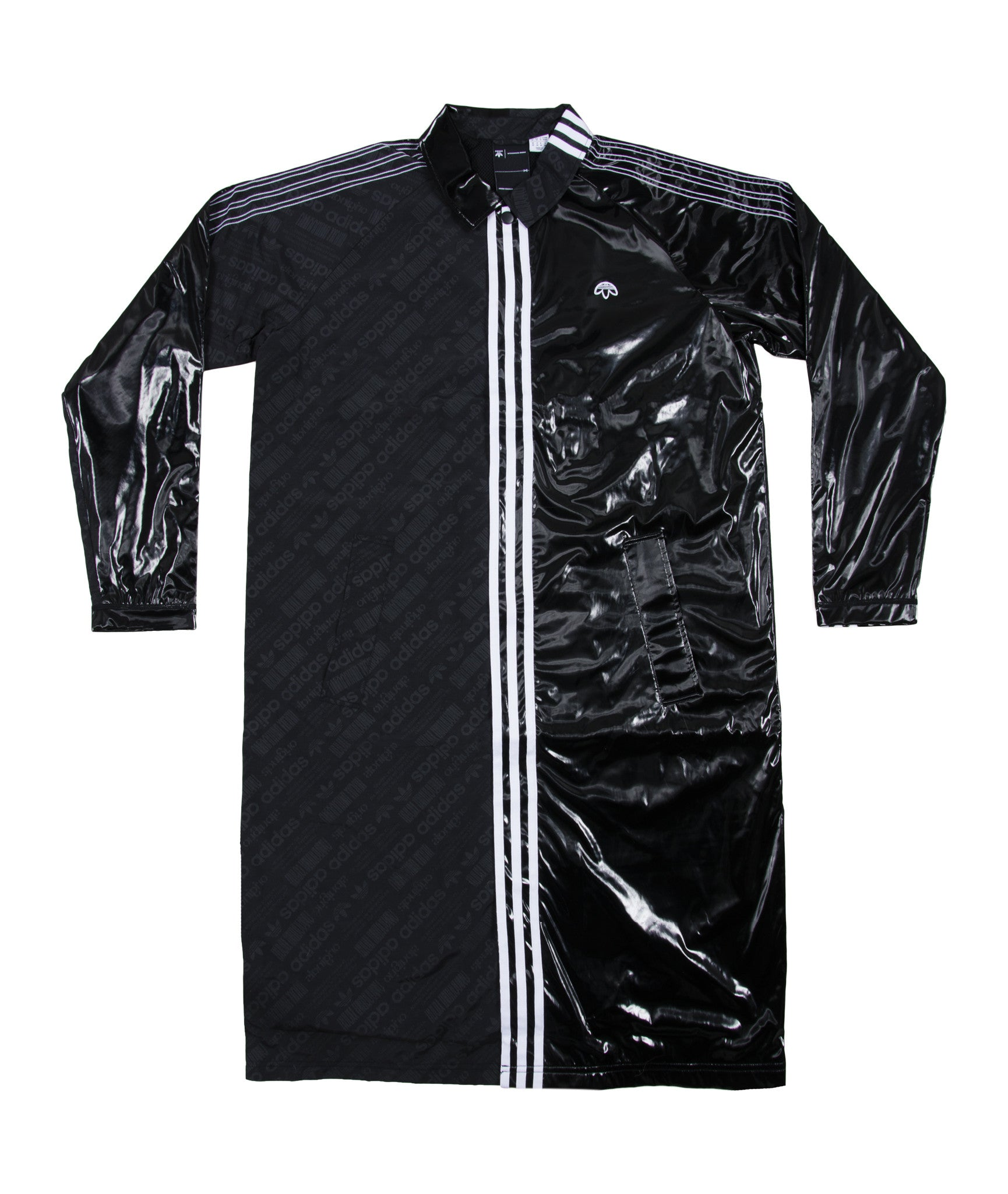 158 ALEXANDER WANG BY ADIDAS PATCH COAT - BLACK