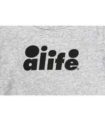 ALIFE® BUBBLE LOGO ONESIE [GRAY]