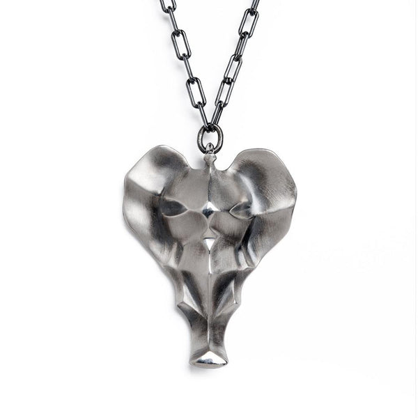 ELINA GLEIZER  Elephant Necklace