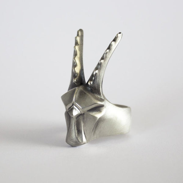 ELINA GLEIZER  Jewelry Capricorn Ring