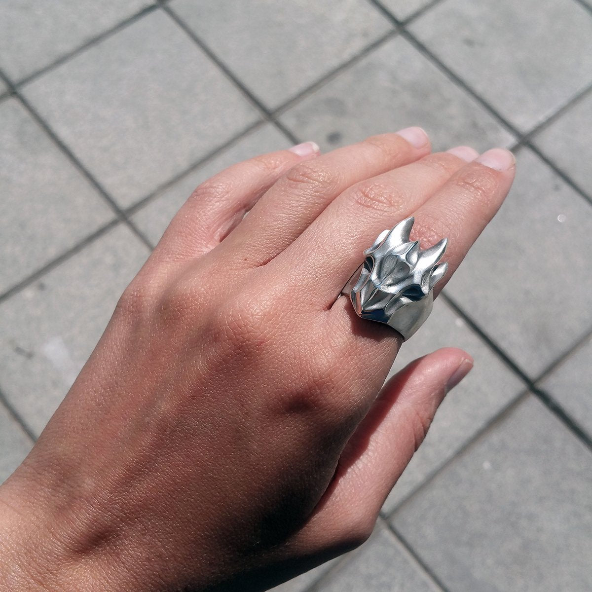 ELINA GLEIZER  Jewelry Dragon Ring