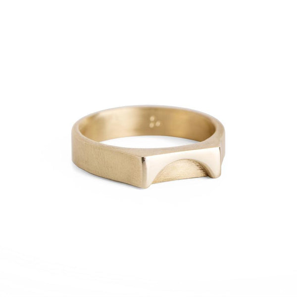 ELINA GLEIZER Jewelry Gold Sunset Ring