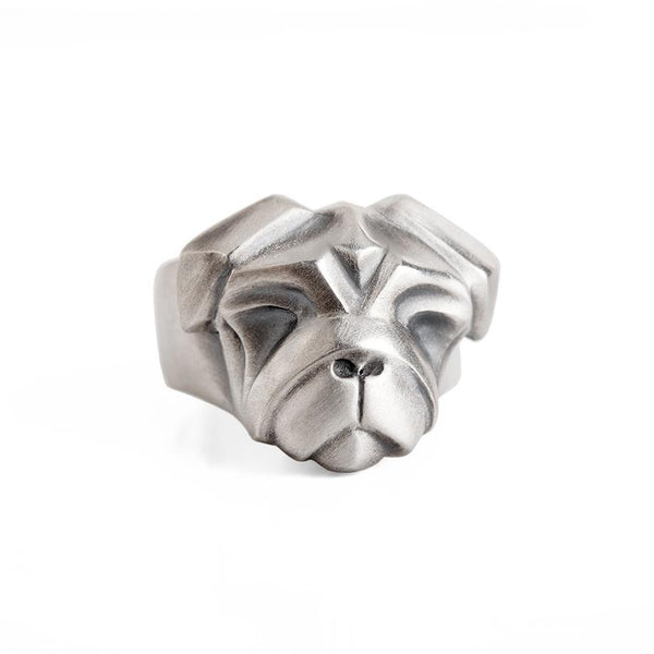 ELINA GLEIZER  Jewelry Pug Ring