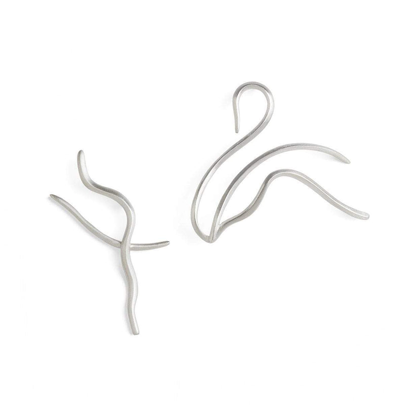 ELINA GLEIZER Single Swan Earring Swan Earring