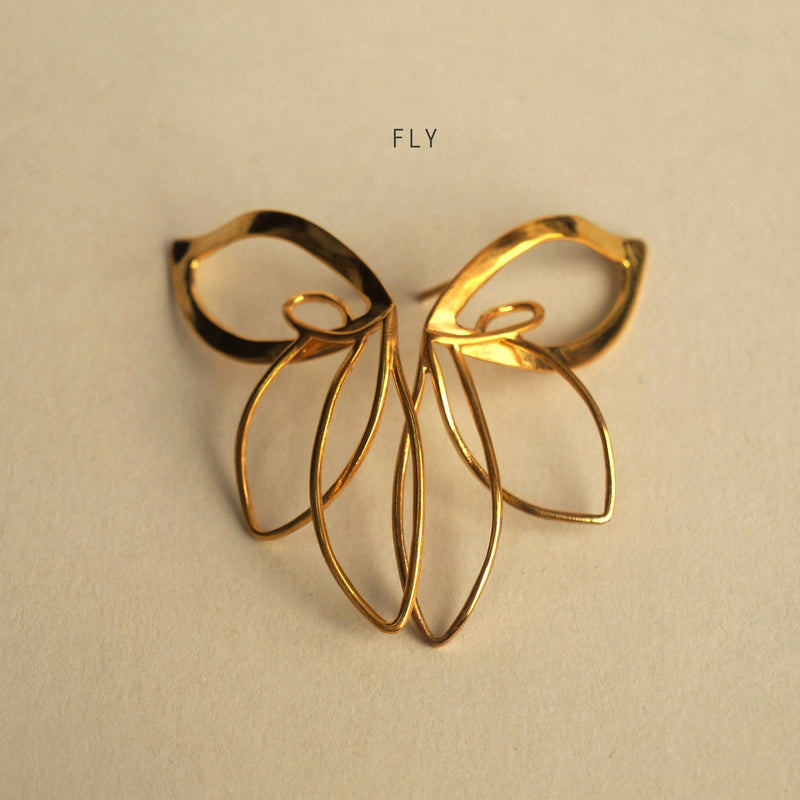 ___ Jewelry Butterfly Earrings