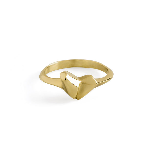 ___ Jewelry Gold Heart Ring