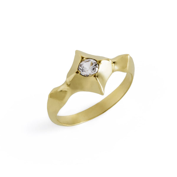 ___ Jewelry Pointy Solitaire Ring