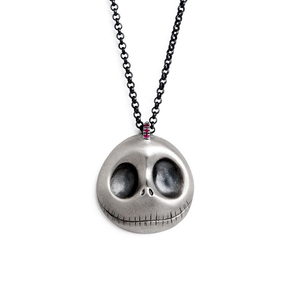 skull cat printed d necklace store
