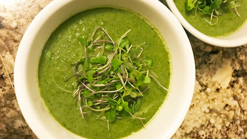 Microgreens in soups
