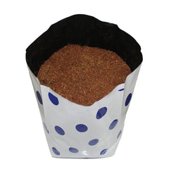 Add soil or potting mix to the grow bag