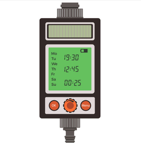 automated timer for drip irrigation system