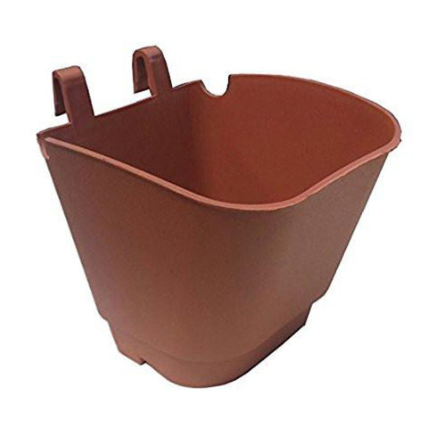 SET OF 10 - VERTICAL GARDENING POUCHES- Brown