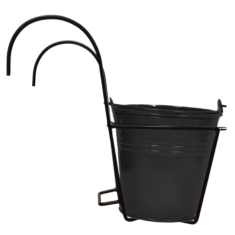 TrustBasket  Hanger Set with Metal Bucket Planter