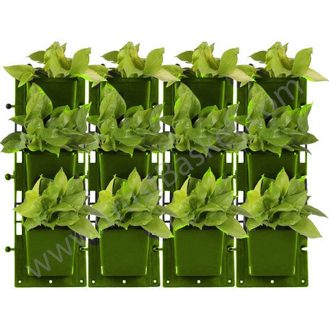 Set of 4-Vertical Gardening Panel (Green)