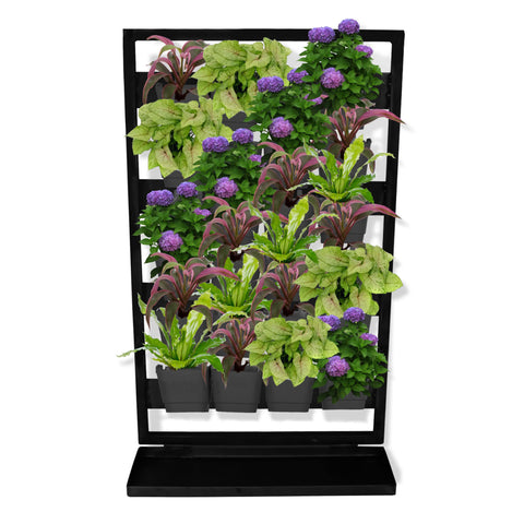 DECORATIVE/CONTEMPORARY PLANT POTS - Verti Greens Stand - Pots and Plants Not Included