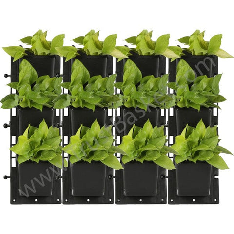 BEST WALL HANGING PLANTERS - Set of 4-Vertical Gardening Panel