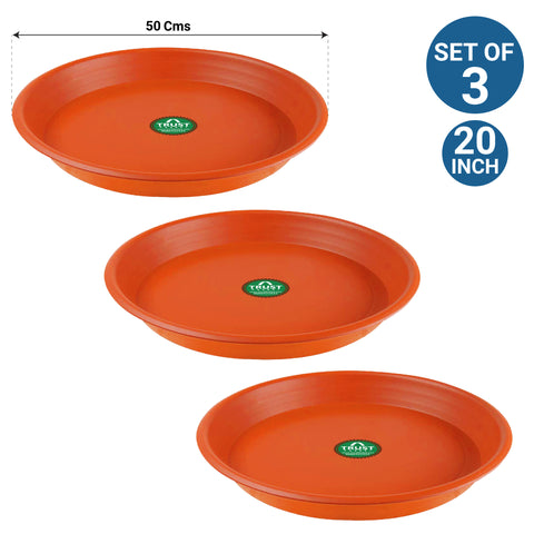 UV Treated Bottom Tray(Plate/Saucer) suitable for 20 inch Plastic Pot